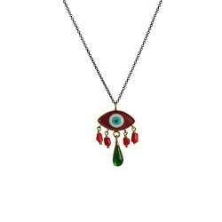 IGMSHOP-Vally Contidis-Evil Eye Necklace-2-S